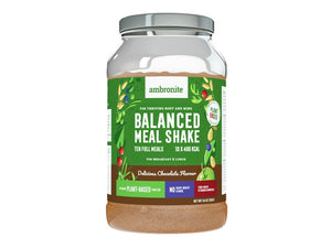 Balanced Meal Shake Tub Chocolate Flavor