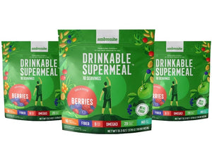 Complete Meal Shake 1600 Kcal - Berries Flavor