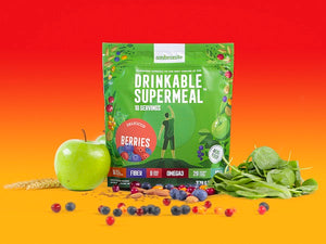 Ambronite Complete Meal Shake Big Bag, Berries Flavor