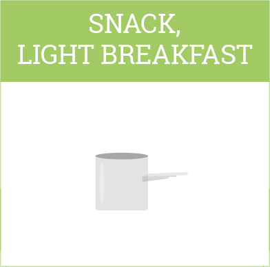 Ambronite light breakfast meal size