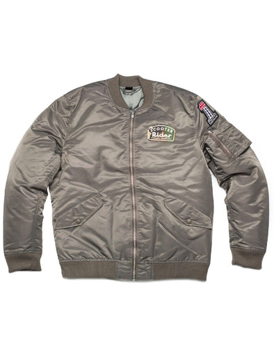 Veste aviateur Born to ride