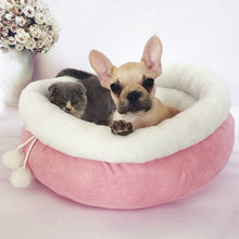 Load image into Gallery viewer, Pet Sofa Dog Beds Princess Style Sweety Cat Bed House Cushion Kennel Pens Sofa House Warm Sleeping Bag Pet Supplies cama perro