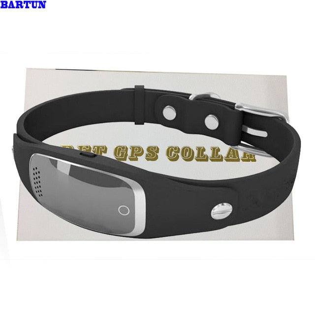 Pet GPS Dog Collar Waterproof Dog Tracker GSM GPRS Silicon gps Cat Collars Locator Pets Products Dropshipping S1