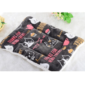 2019 Large Pet Dog Cat Bed Puppy Cushion House Pet Soft Warm Kennel Dog Mat Blanket