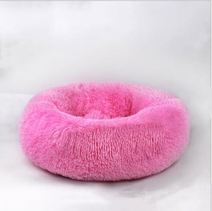 Pet Dog Bed Comfortable Donut Cuddler Round Dog Bed Ultra Soft Washable Dog and Cat Cushion Bed hot sell 2810