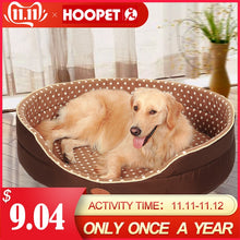Load image into Gallery viewer, Double sided available all seasons Big Size extra large dog bed House sofa Kennel Soft Fleece Pet Dog Cat Warm Bed s-xl