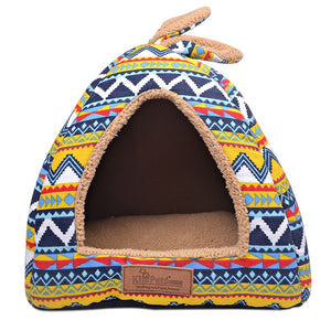 New Fashion Dog Flag Removable Cover Dog House Mat Dog Beds For Small Medium Dogs Pet Products House Pet Beds for Cats S/M/L