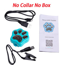 Load image into Gallery viewer, Pets Mini GPS Tracker Dog WiFi GSM GPRS RF-V30 Phone Real Time Tracking Global SMS Locator Waterproof Anti Lost Kids Baby Cat