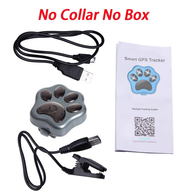 Pets Mini GPS Tracker Dog WiFi GSM GPRS RF-V30 Phone Real Time Tracking Global SMS Locator Waterproof Anti Lost Kids Baby Cat