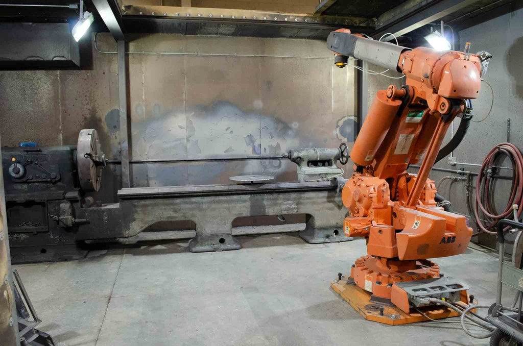 Robotically Controlled Thermal Spray