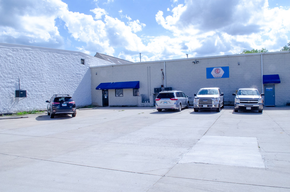 HTS Coatings Shop and Facilities