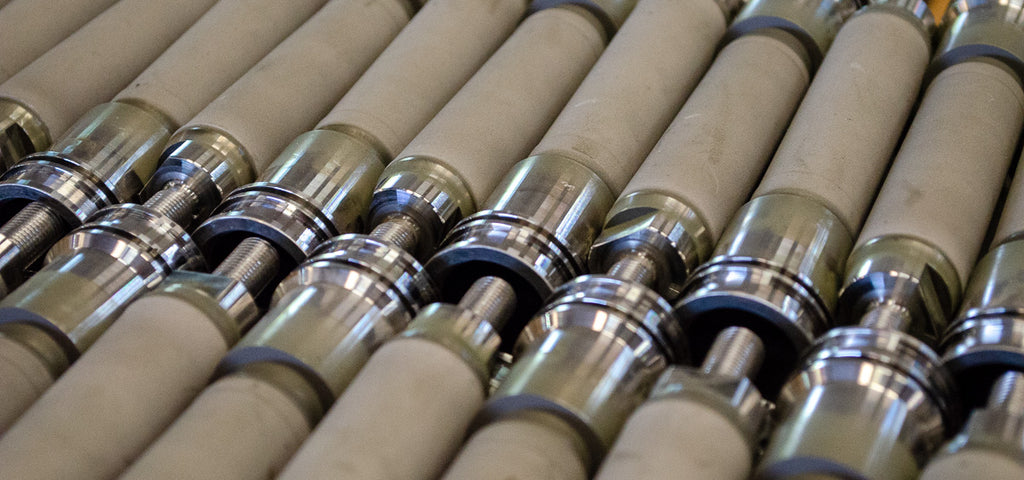 Tungsten Carbide Coated Hydraulic Shafts