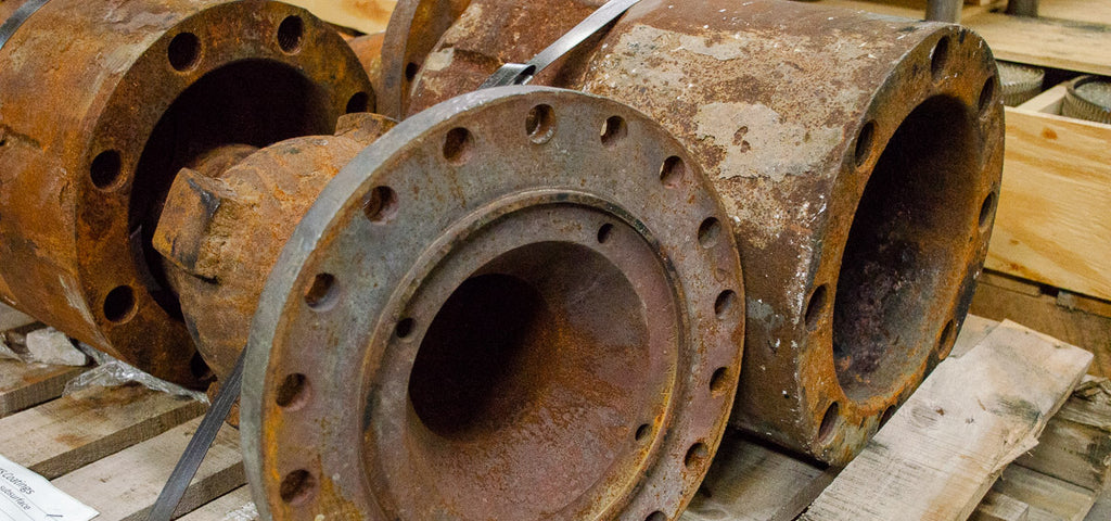 Corrosion on Industrial Components