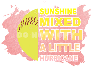 Sunshine Mixed with Softball