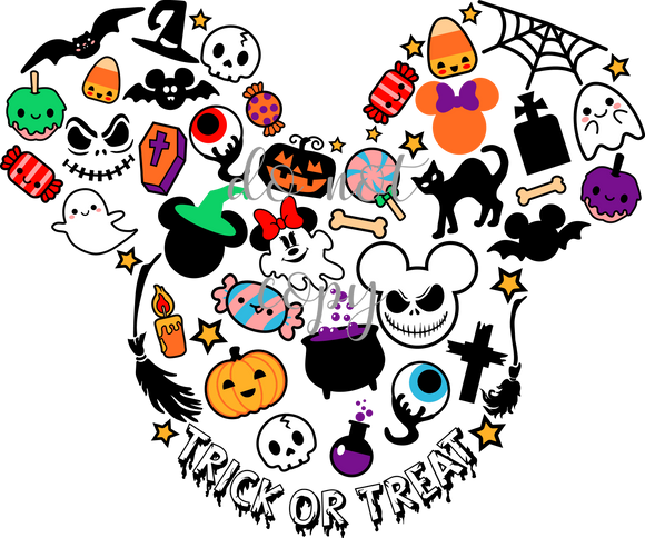 Trick or Treat Disney