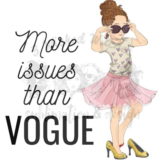 More issues than VOGUE Digital