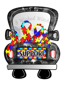 Autism Support Truck