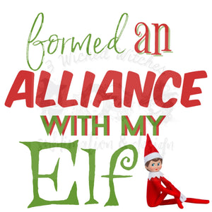I Formed An Alliance with My Elf Digital