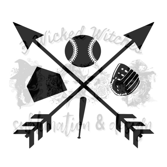 Baseball Arrows