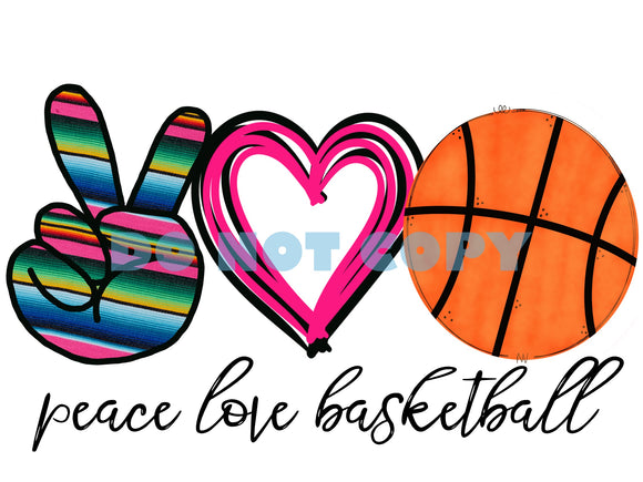 Peace Love Basketball