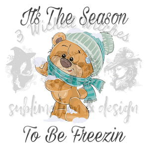 It's the season to be freezin