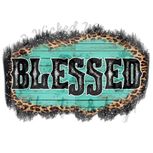 Blessed teal