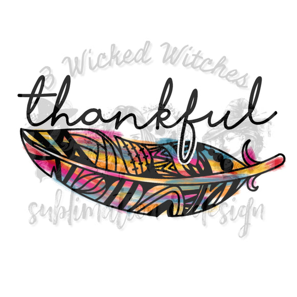 Thankful feather