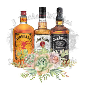 Whiskey Floral
