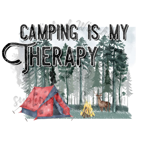 Camping in my therapy