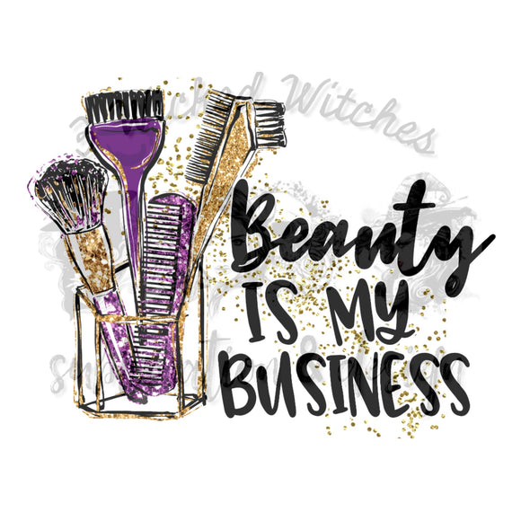 Beauty is my business
