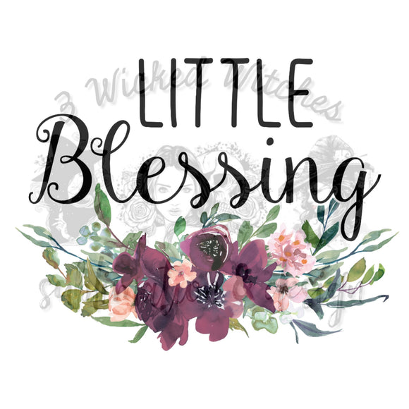 Little Blessing Floral