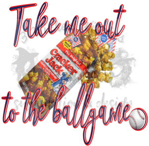 Take Me Out To The Ballgame Cracker Jacks