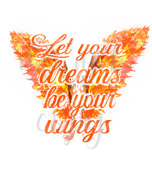 Let Your Dreams Be Your Wings DIGITAL