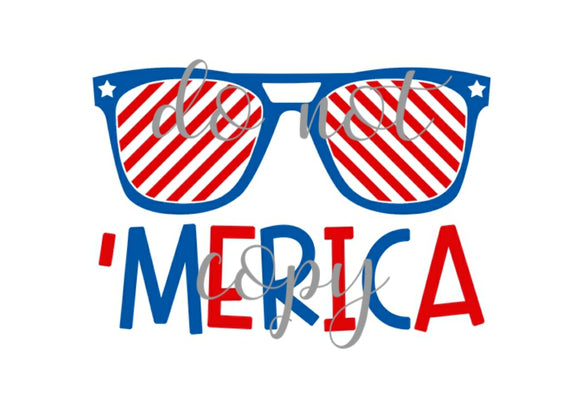 Merica sunglasses