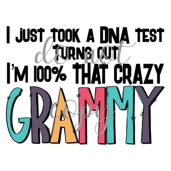 Crazy grammy