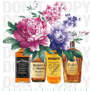 Alcohol Makers Mark Floral