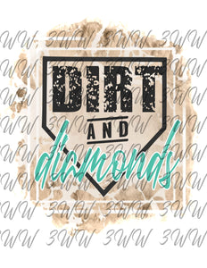 Dirt and Diamonds Blue
