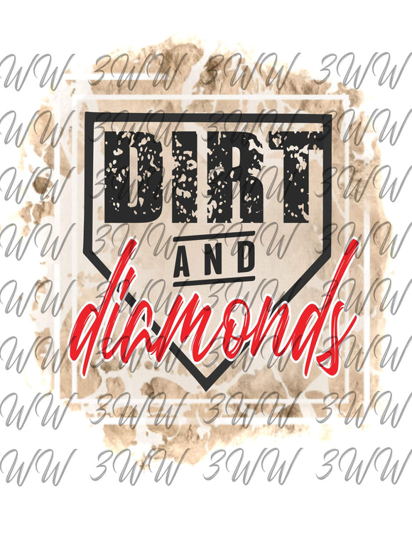 Dirt and Diamonds Red Digital