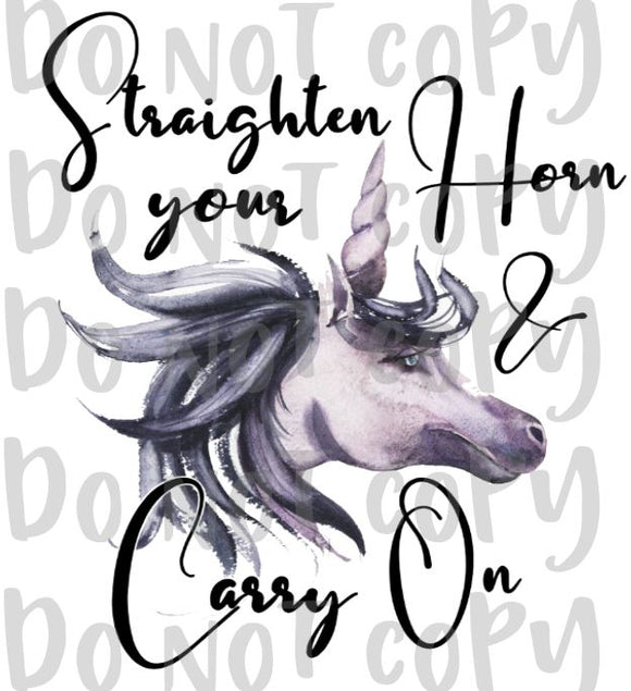 Straighten Your Horn And Carry On