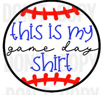 This Is My Game Day Shirt
