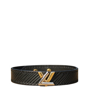 Louis Vuitton - Bracelet Twist Noir 19