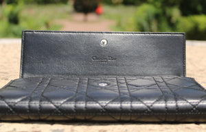 "Christian Dior -  Pochette / Portefeuille ""Cannages"""