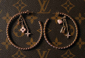 Louis Vuitton - Créoles Sweet Monogram