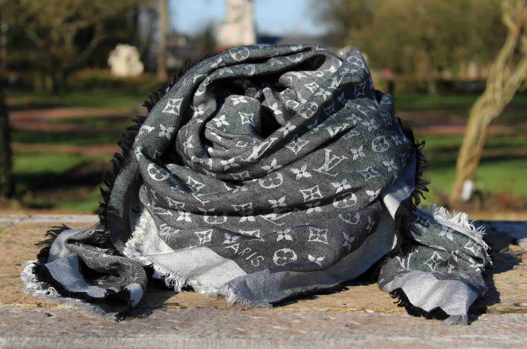 Louis Vuitton - Black Denim Shawl