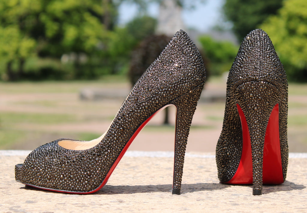 "Christian Louboutin - Rich Very ""Swarovski"" 39"