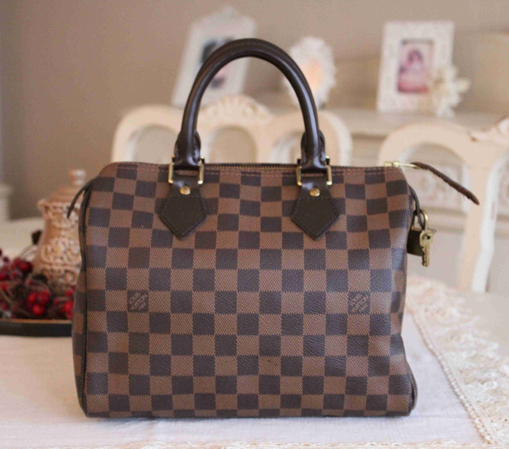 Louis Vuitton - Speedy 25 Damier Ebene