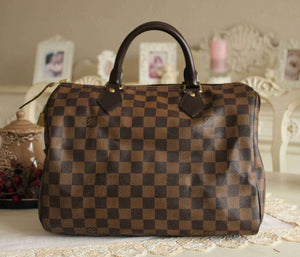 Louis Vuitton - Speedy 30 Damier Ebene