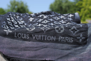 Louis Vuitton - Châle Monogram Shine