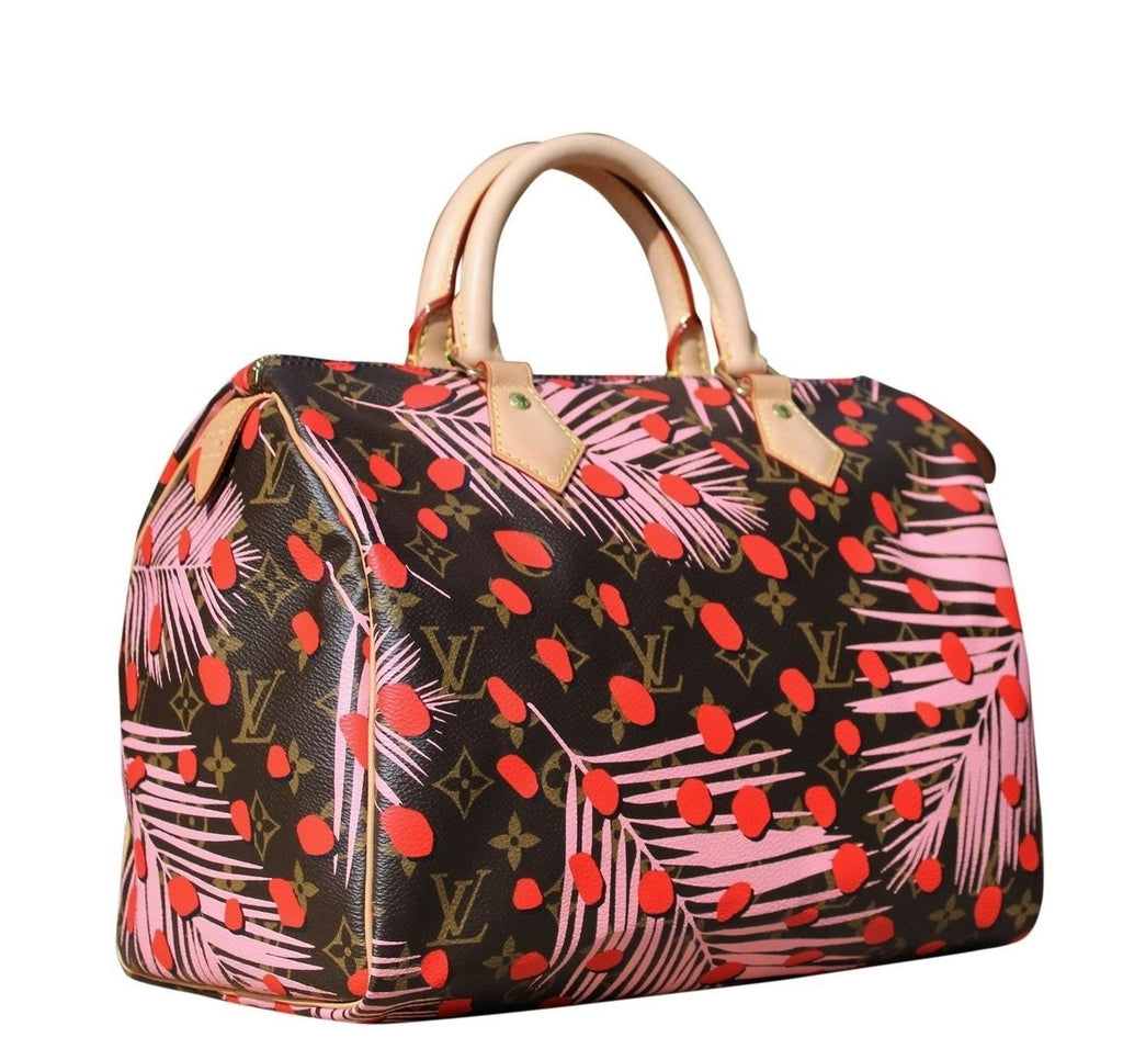 "Louis Vuitton - Speedy30 ""Jungle Pop"""