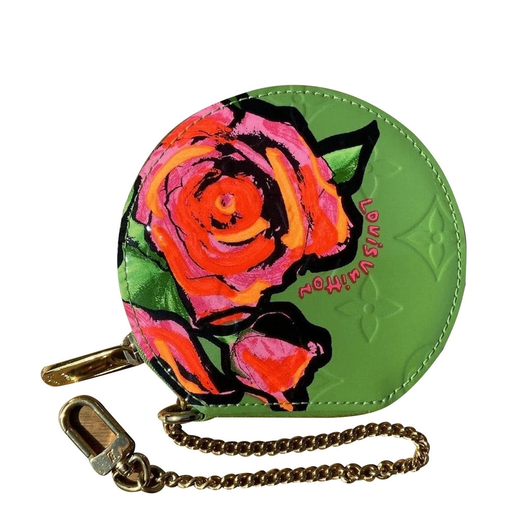"Louis Vuitton - Wallet ""Roses"" by Stephen Sprouse"